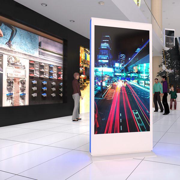 Soluciones en centros comerciales